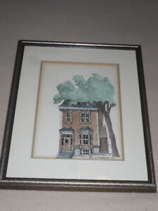 original framed painting by Roger Hupman