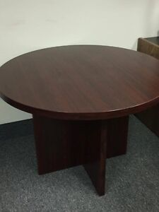 Solid wood table-seats 4- $50 obo