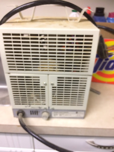 Electric Space Heaters - 240 V - $30 each