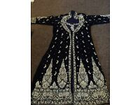Heavy done velvet jacket shalwar suit size 16