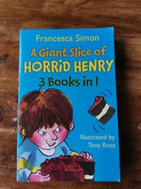 Horrid Henry 3 books in 1.
