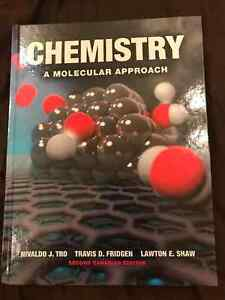 Chemistry a molecular approach 2nd edition