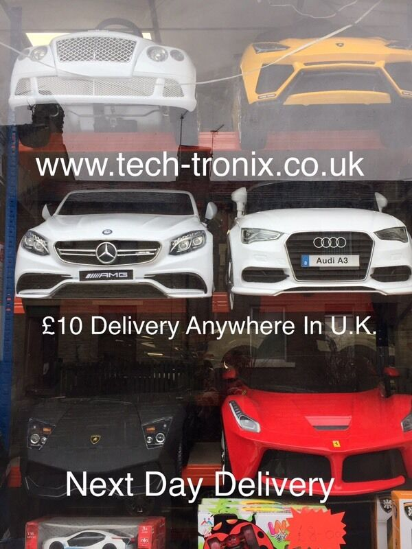 Kids Ride On Electric Cars, Parental remote Control Or Self Drive From75in Bradford, West YorkshireGumtree - Kids Ride On Electric Cars, Parental remote Control Or Self Drive From £75All Cars Have Engine Start, Horn, Music, Some Cars We Sell Door Opens, Push Button Start Or Key Start, Led LightsWe Can Built The Car While U Wait (No Charge)We Have Audi,...