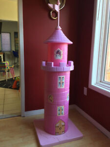 Aurora's Castle Tower and Table Set - Like New in Box!