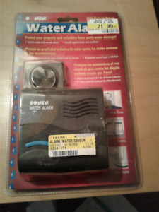 Water Alarm with Remote Sensor – New in package