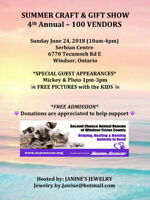 SUMMER CRAFT & GIFT SHOW ~ 4th Annual