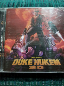 RARE Duke Nukem 3D Classic PC Game and Instruction Manual