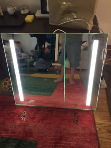 LED Backlit Mirror Medicine Cabinet (Slight Damage) reg $1235.00