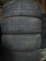 Four Michelin 245 50 R20 studdless winter tires.