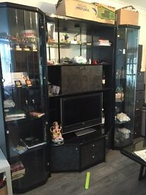 Italian design display/TV drinks cabinet