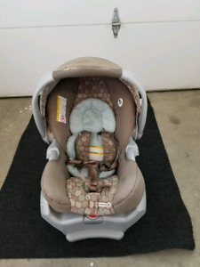 Graco Sunridge 35 travel system - stroller/car seat/base