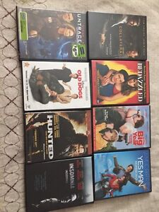 8 movies for sale.