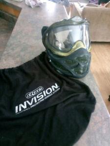 Dye Invision Paintball Mask With Carrying Bag