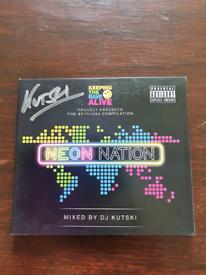 Neon Nation mixed by Kutski (also signed)