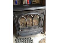 Cast iron gas fire