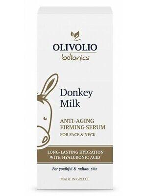 Natürliche Gesicht (98% natürliche straffend Antifalten Gesichtsserum Serum Eselsmilch Hyaluronsäure)