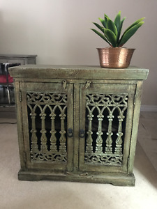 Beautiful Carved Wooden Cabinet