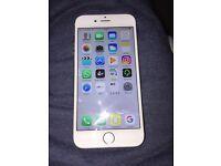 iPhone 6 white / silver 16gb o2-giffgaff-Tesco