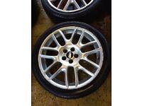"18"" GENUINE BBS MK4 GOLF GTI V6 BORA TT A3 CELICA SUPRA SET OF 4"