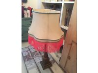 Vintage style table lamp.