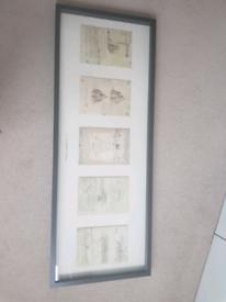 large frame ikea Leonardo 5 print set 104 x 40cm