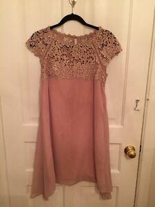 Pink Chiffon Cocktail Dress