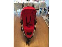 Quinny Zapp Xtra plus Maxi Cosi Car seat / raincovers / footmuff
