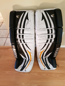 Goalie gear with lots of life left