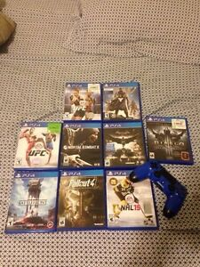 Selling PS4 games and controller