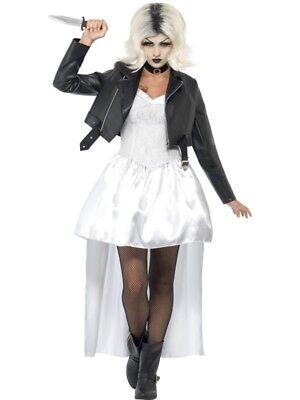 Bride of Chucky Adult Womens Smiffys Fancy Dress Costume - UK 12-14