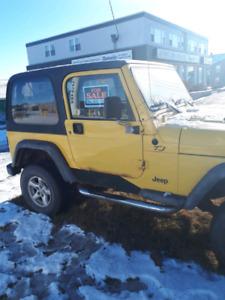 2002  TJ jeep