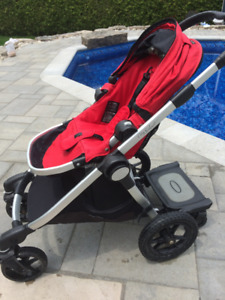 City Select stroller with glider board - $350