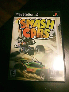 PS2 Smash Cars Game with insert  $5
