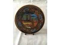 24 carat Olympia decorative plate