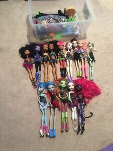 Monster High Collection!!