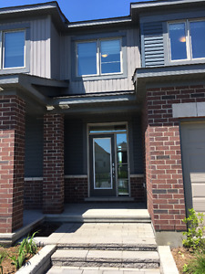 Brand New Townhouse in Orleans  with no back neighbours. Aug 1st