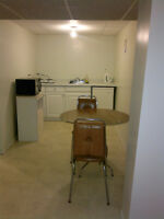Bachelor suite for rent close the U of M