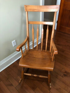 Antique Rocking Chair - Solid Wood