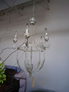 Crystal Chandeliers and Sconces - unique vintage lighting