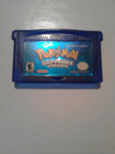 Pokemon sapphire for sale/ trade!