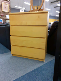 Chest of Drawers matching bed side table available