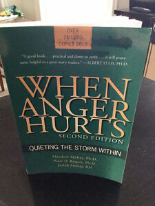 WHEN ANGER HURTS-Self-Help Book