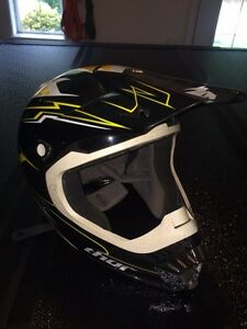 2 ATV or snowmobile helmets for sale.