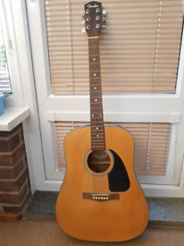Guitar with stand