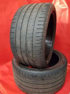 Michelin Pilot Super Sport - 295/35/ZR20 105Y (Pair) 80% life.