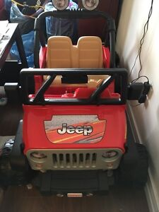 Jeep for toddlers (used only indoors)