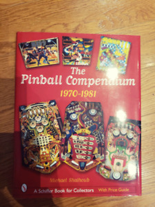 2 hardcover pinball books value guide
