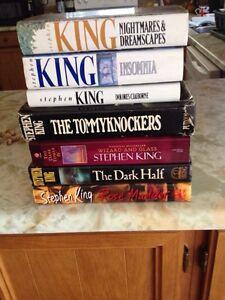 Stephen King Hardcover Books