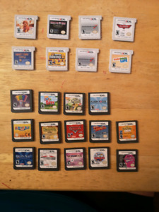 3DS $15 each and DS games $10 each.