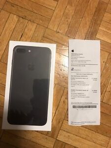 Cheapest black iPhone 7 plus 256gb unlocked+receipt